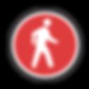 Pedestrian logo