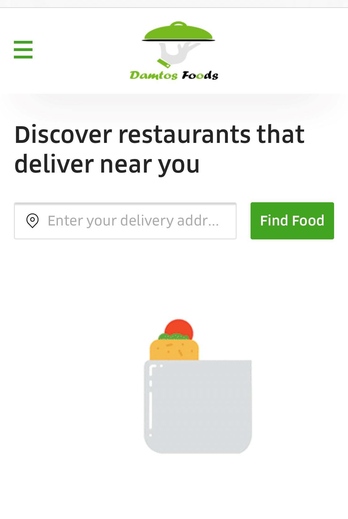 Damtos foods - Food Delivery