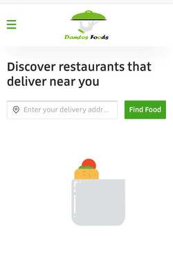 Damtos foods - Food Delivery