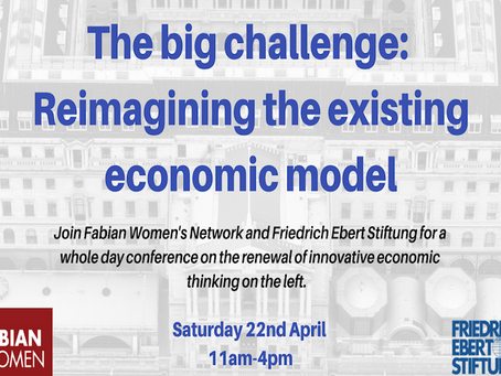 The big challenge: Reimagining the existing economic model
