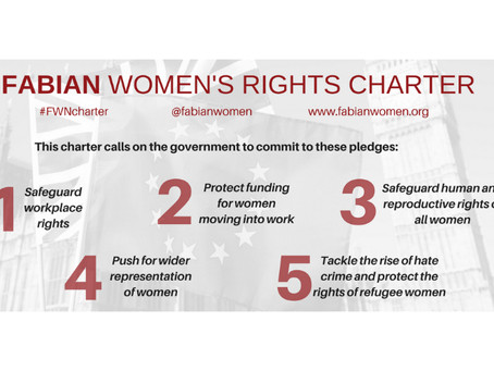 Sign our Fabian Women's Rights Charter
