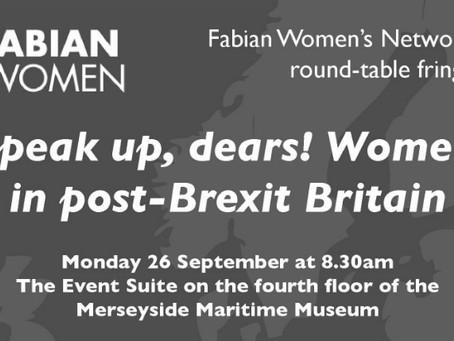 Speak up, dears! Women in post-Brexit Britain