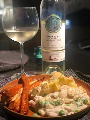 Fish pie & Eden