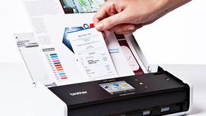 Como limpar seu scanner Brother?