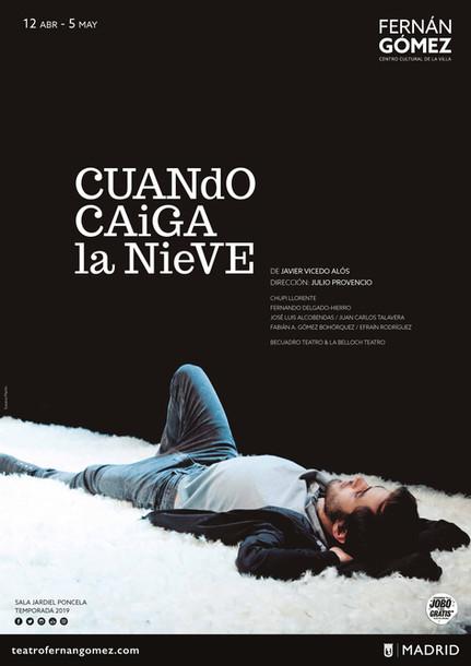 ESTRENO CUANDO CAIGA LA NIEVE | Teatro Fernán Gómez