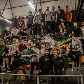 Breach Apparel Tour at Fluidity Freerun Academy