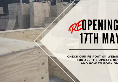 IMPORTANT INFO - REOPENING MAY 17TH!