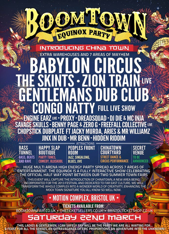 Boomtown Equinox Party 2013