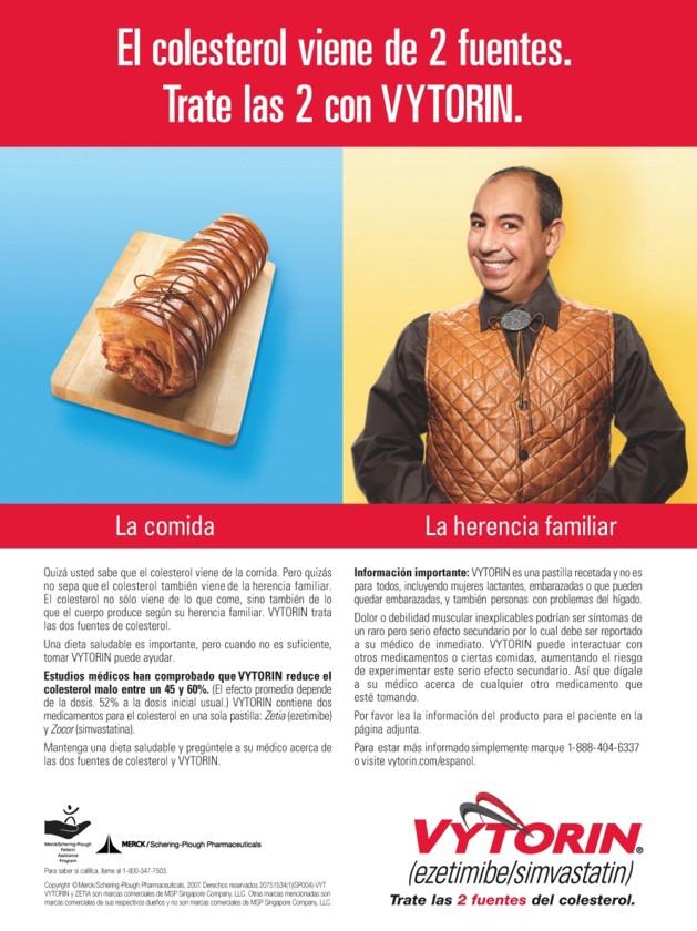 Merck - Vytorin Print Campaign
