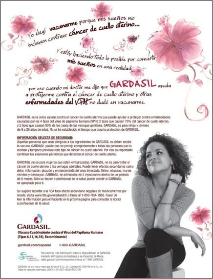 Merck - Gardasil Print Campaign