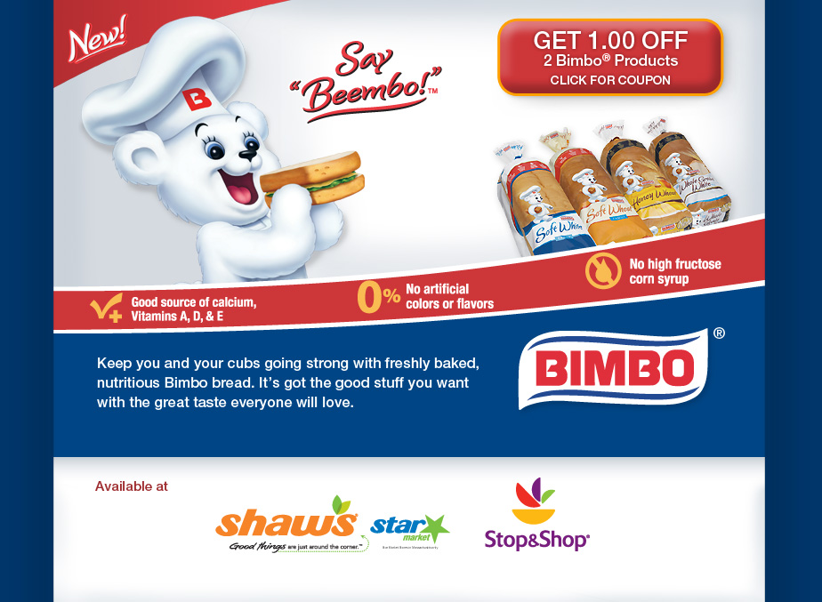Bimbo Bakeries Shopper Marketing