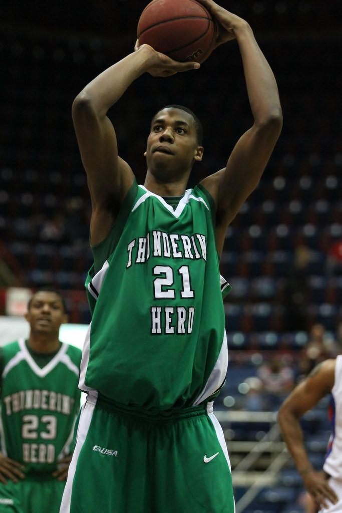 Hassan Whiteside Marshall University Around the Game NBA