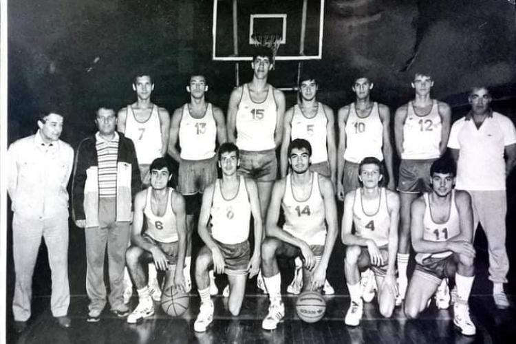Gheroghe Muresan Universitatea Cluj Around the Game NBA