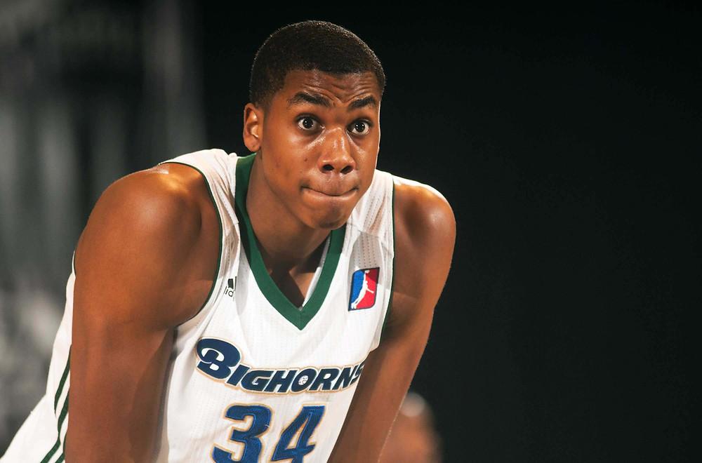 Hassan Whiteside D-League Around the Game NBA