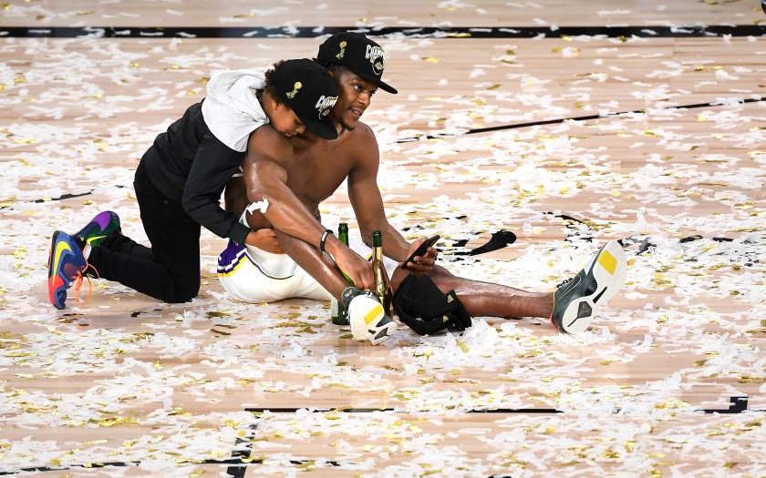 Rondo finals son lakers around the game nba