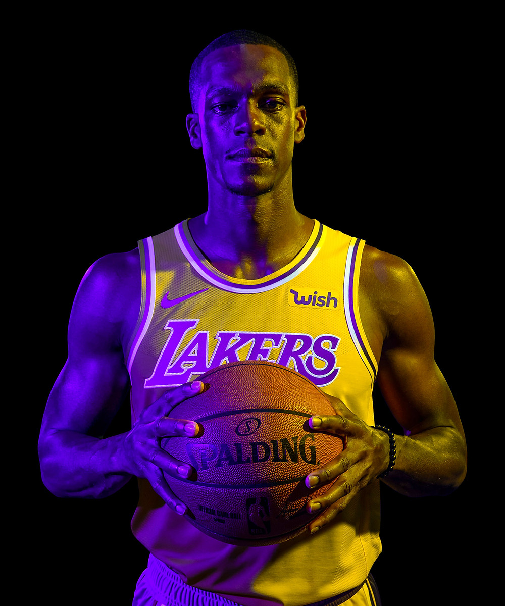 Rondo Lakers Around the Game NBA