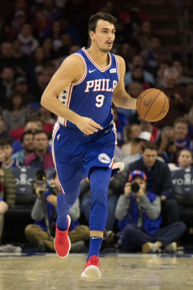 Dario Saric Philadelphia 76ers Around the Game