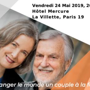 Conférence par les fondateurs de la thérapie IMAGO, à Paris le 24 mai 2019