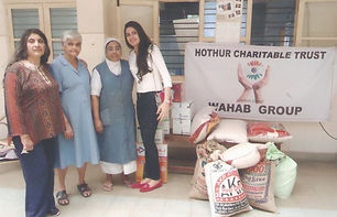 Basic Amenities To Little Sisters