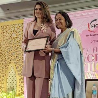 Ficci Flo Bangalore Award