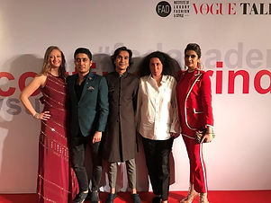 Participated In Scouting For India Initiative By Vogue Italia X FAD To Encourage And Empower Acid Attack Survivors