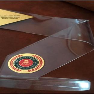 Asian Arab Chamber of Commerce – Philanthropy Award 2017