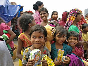Aid To Women And Children At The Slums