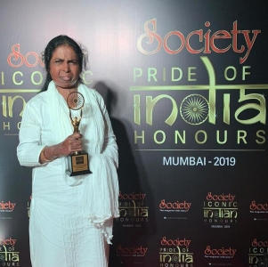 Hothur Founder Kulsum Shadab Wahab Felicitated At The Society Iconic Indian Honours