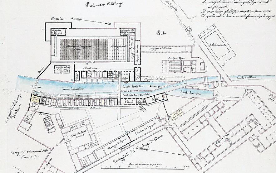 Regia Polveriera di borgo Dora a Torino - Effett dello scoppio de 1852