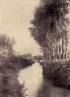 Canale della Pellerina in c.so Appio Claudio