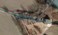 Imbocco della  bealera Cossola in regione Sebusto a Collegno