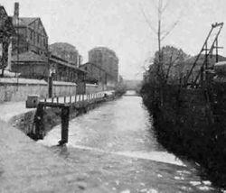 Canale dei Molassin Strada del Fortino a Torino