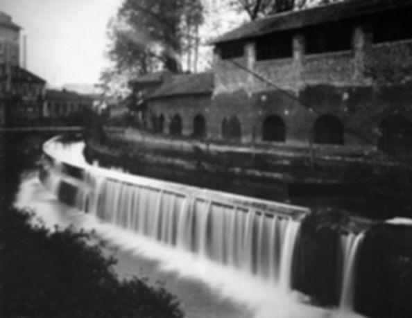 Opificio lungo il canale de Martinett