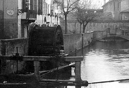 Ruota idraulica Trivella Calcagno