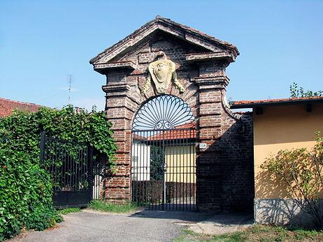 Portale dell'edificio degli Sperimenti Idraulici - Torino