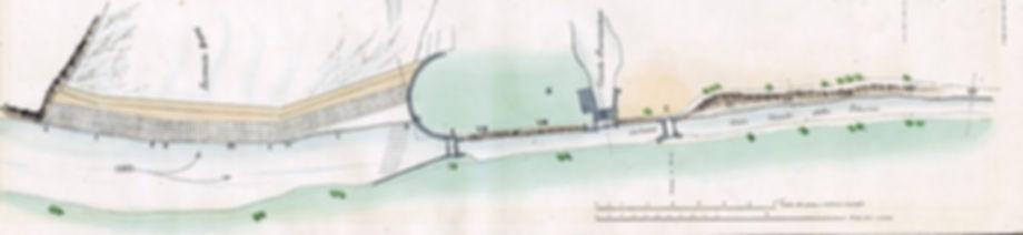 Canale della Pellerina Torino - opere di presa