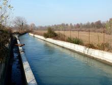 Bacino di carico della centrale idroelettrica