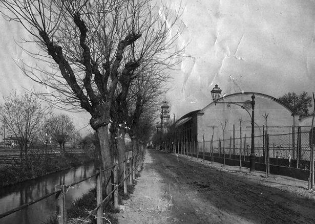 Canale di Molassi in strada del Fortino a Torino