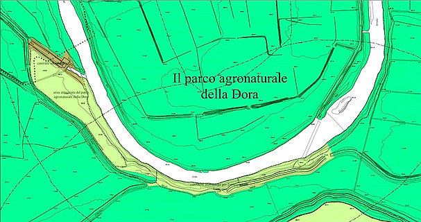 Parco agronaturale dell Dora - PRG Comune di Collegno Variante 3