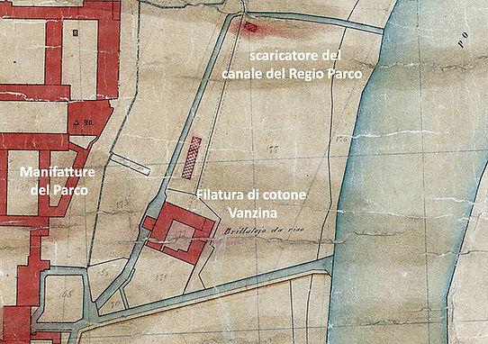 Filatura di cotone al Regio Parco Torino