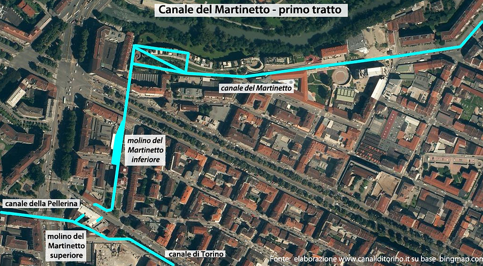 Canaledel Martinetto Torino