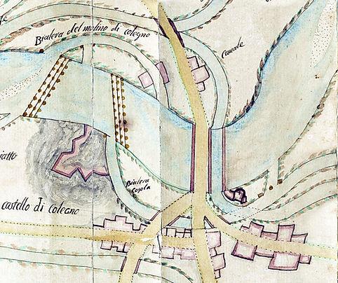 Presa della bealera Cossola a Collegno (1796)