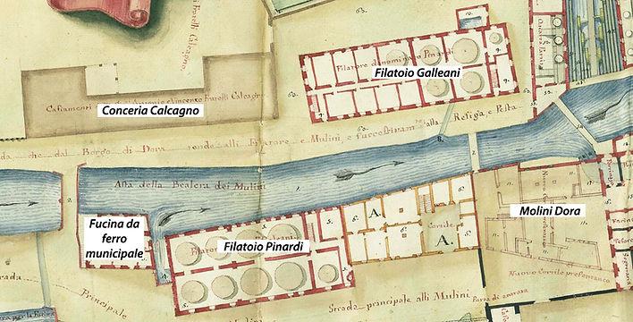 Opifici in borgo Dora Pinardi Galleani Fucina municipale