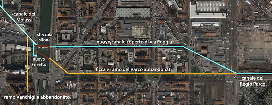 Canale del Regio Parco Torino ramo di via Foggia