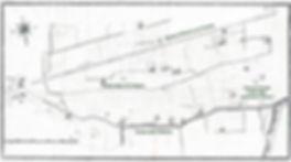 Planimetria settecentesca del terittorio di Parella - Torino