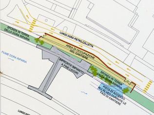 Planimetria del cantiere