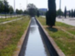 Bealera lungo il cimitero Parco di Torino sud.