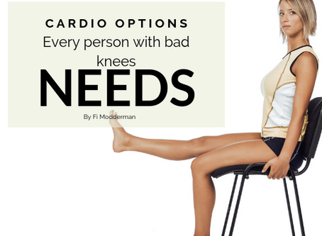 Cardio Options Every Person With Sore Knees Needs.