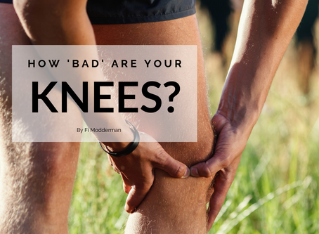 How 'bad' are your knees?