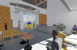 3D view 4 - Inside Lobby